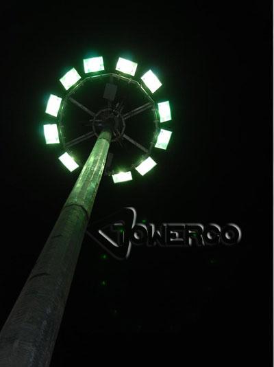 برج روشنایی (دکل روشنایی) با تاج ثابت