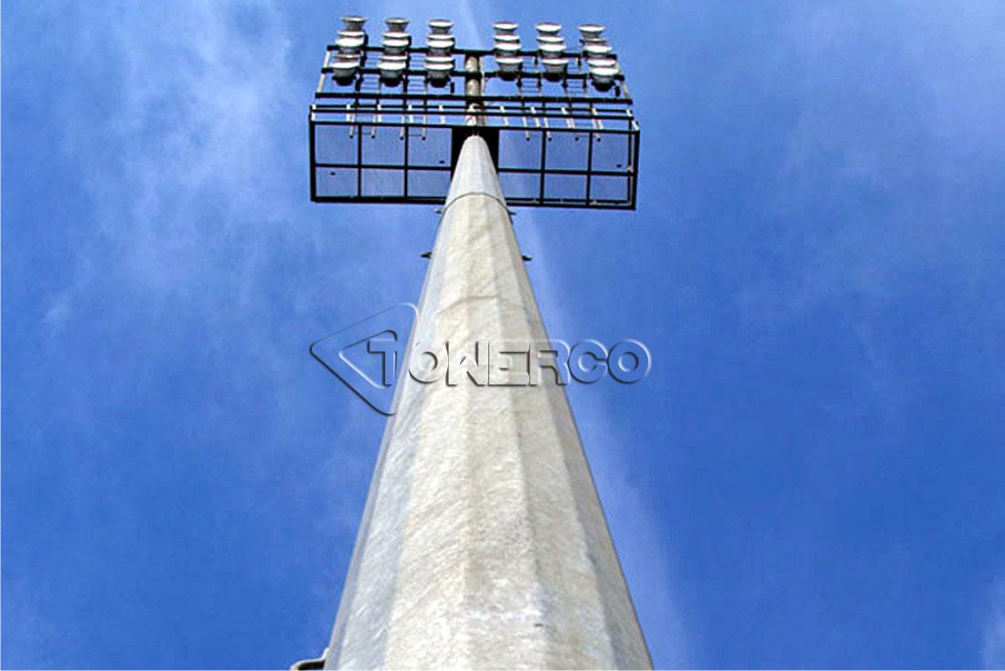 دکل منوپل - برج استادیومی
