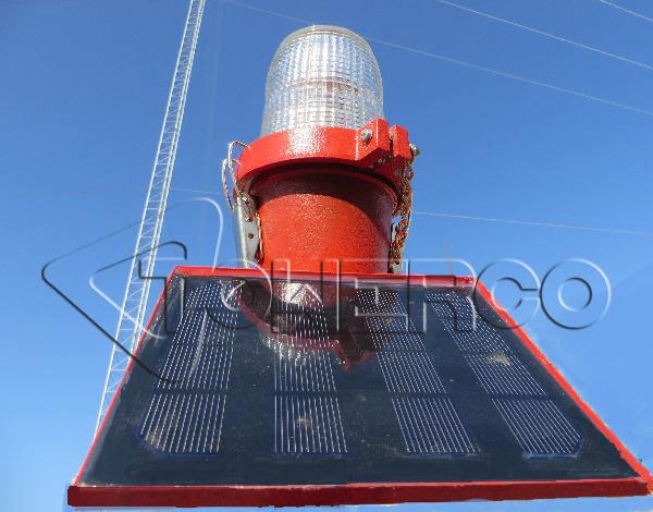 چراغ دکل سولار خورشیدی